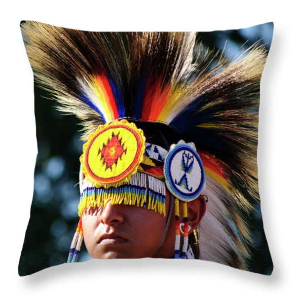 Incognito Throw Pillow by Agrofilms Photography