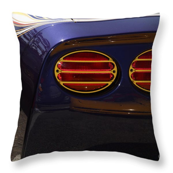 Indy Pace Car Throw Pillow by Dennis Hedberg