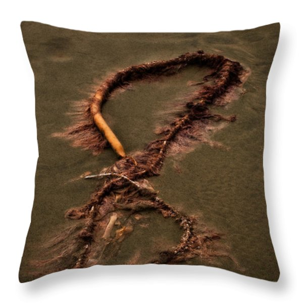 Infinity Throw Pillow by Venetta Archer
