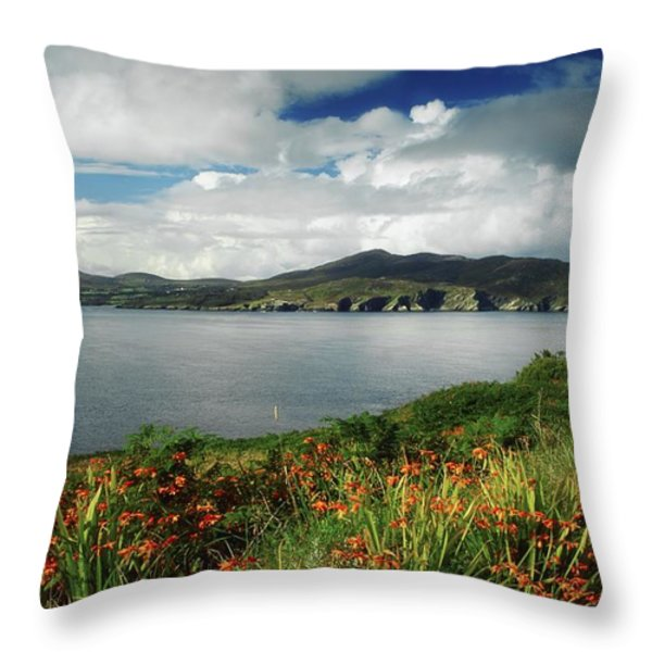 Inishowen Peninsula, Co Donegal Throw Pillow by The Irish Image Collection