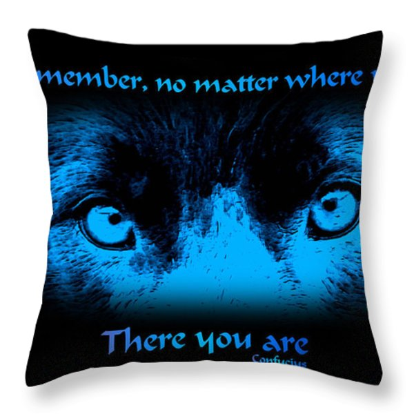 Inner Self Throw Pillow by Smilin Eyes  Treasures
