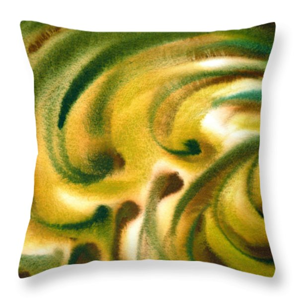 Inspiration One B Throw Pillow by Irina Sztukowski