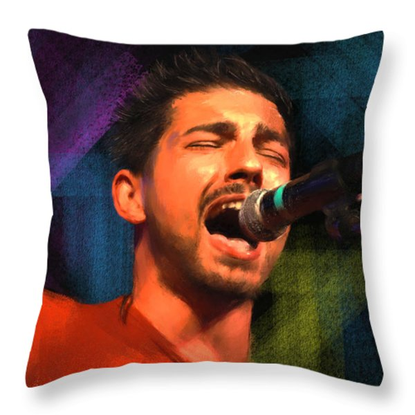 Inspire Throw Pillow by Robert Smith