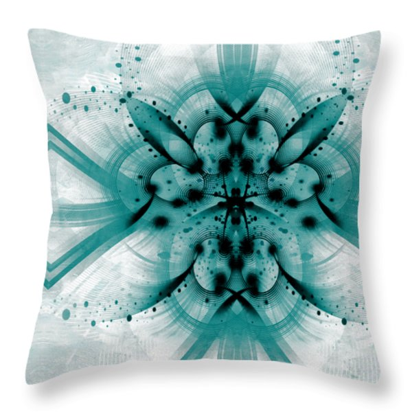 Intelligent Design 2 Throw Pillow by Angelina Vick