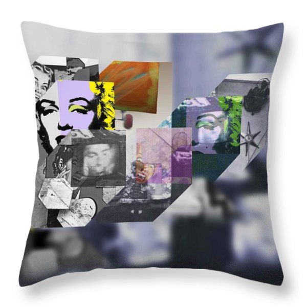 Interior Iv Throw Pillow by Charles Stuart