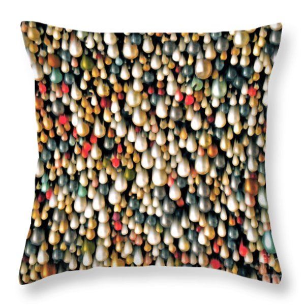 It Is What You Think It Is Throw Pillow by Gwyn Newcombe