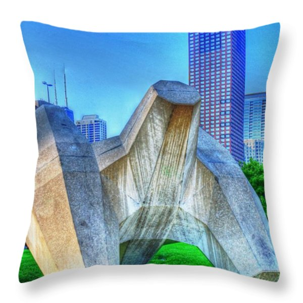 Jack City Throw Pillow by Dan Stone
