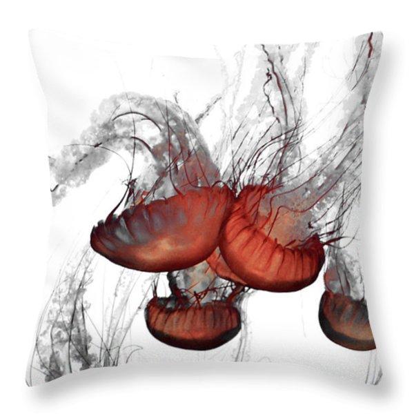 Jelly Series 1 Throw Pillow by Lisa McKinney
