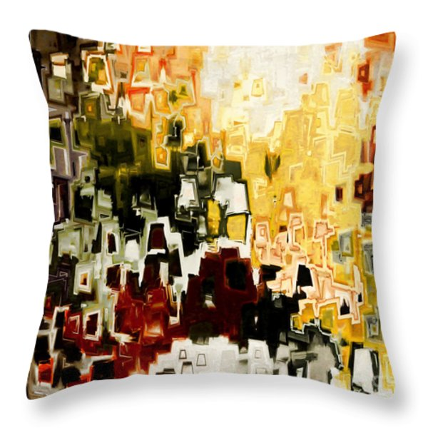 Jesus Christ A Man of Sorrows Throw Pillow by Mark Lawrence