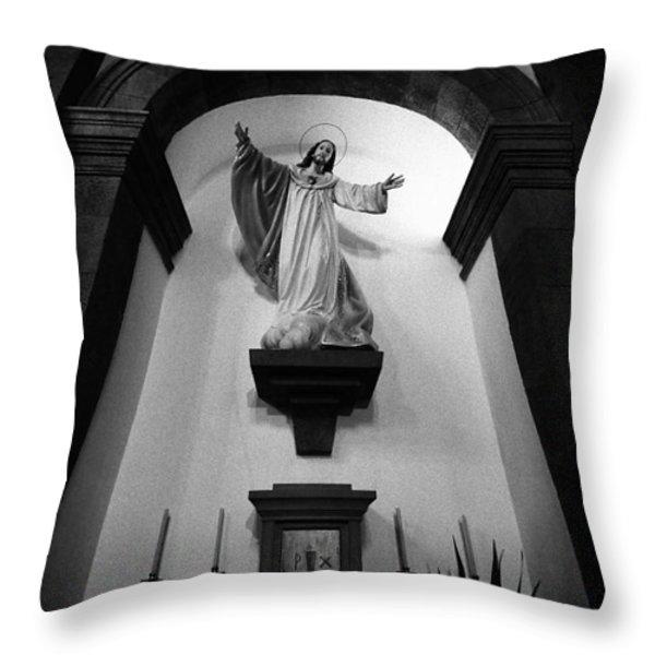 Jesus Christ Throw Pillow by Gaspar Avila