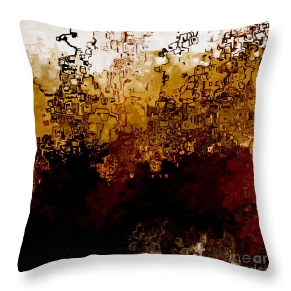 Jesus Christ The Amen Throw Pillow by Mark Lawrence