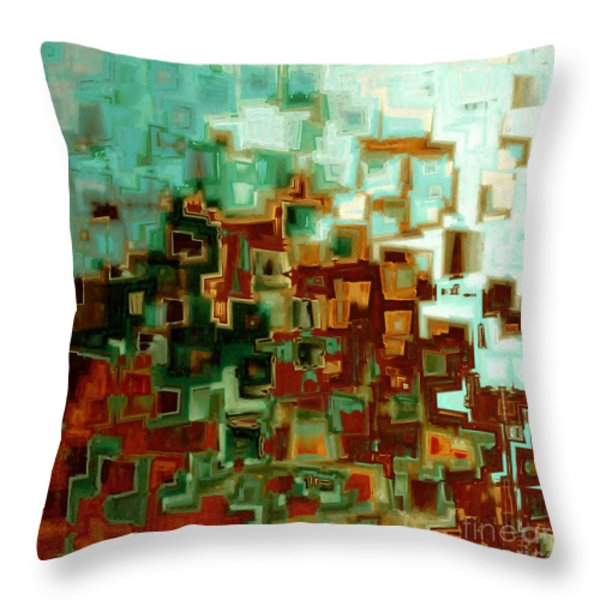 Jesus Christ The Messiah Throw Pillow by Mark Lawrence