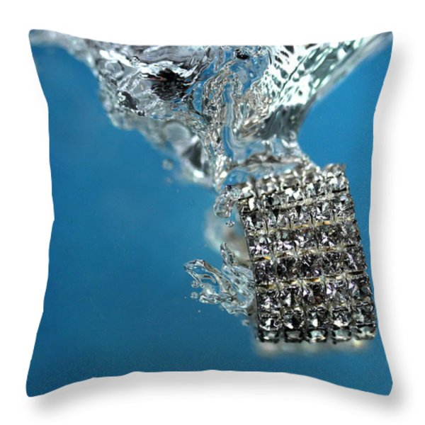 Jewelry Throw Pillow by Mark Ashkenazi