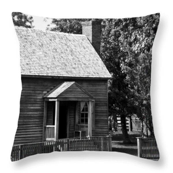 Jones Law Office Appomattox Virginia Throw Pillow by Teresa Mucha