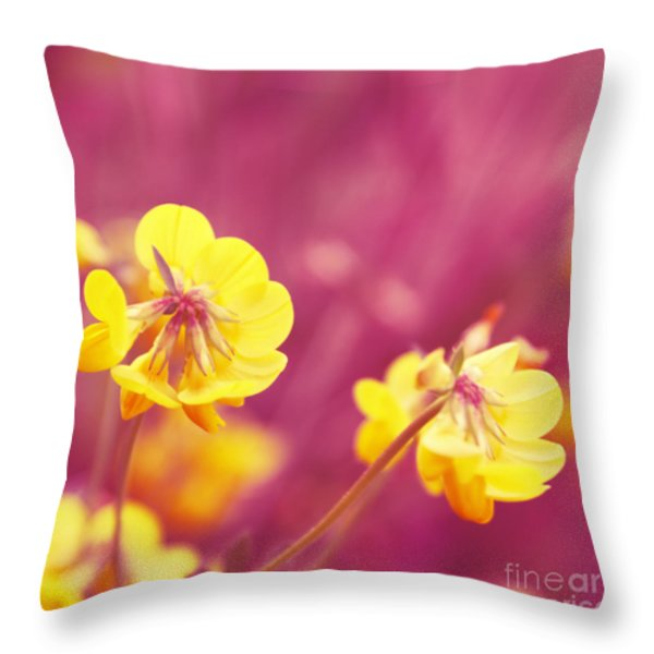 Joyfulness Throw Pillow by Aimelle