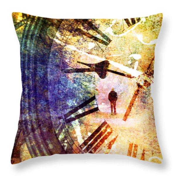 June 5 2010 Throw Pillow by Tara Turner
