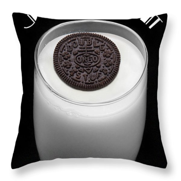 Just Dunk It Throw Pillow by Andee Design