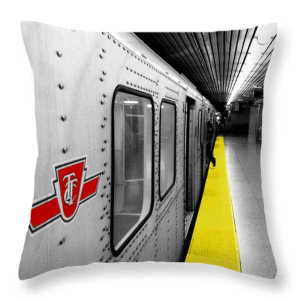 Just in Time Throw Pillow by Valentino Visentini