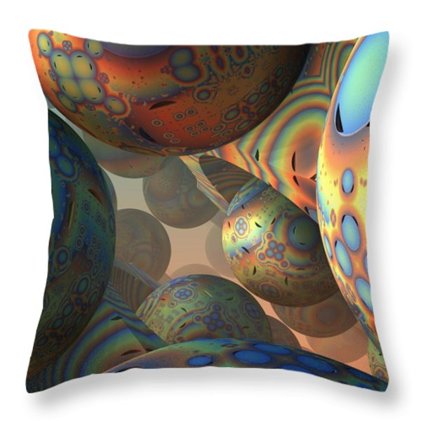 Just Wondering Throw Pillow by Lyle Hatch