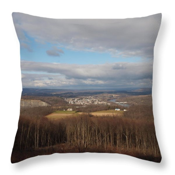 just your typical view Throw Pillow by Robert Margetts