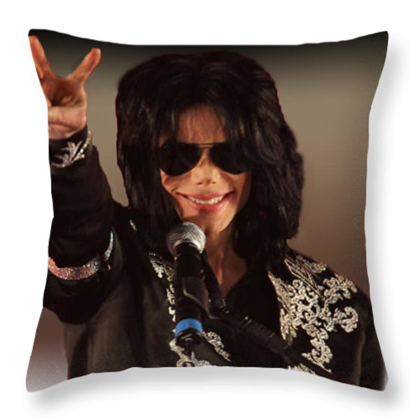 Justice Served Throw Pillow by EricaMaxine  Price
