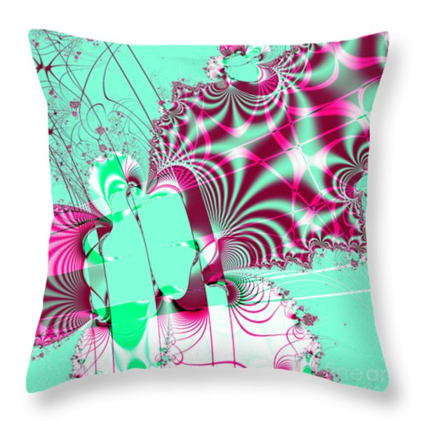 Kabuki . Square Throw Pillow by Wingsdomain Art and Photography