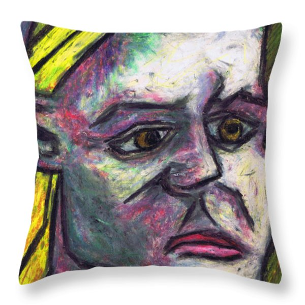 Kamila Throw Pillow by Kamil Swiatek