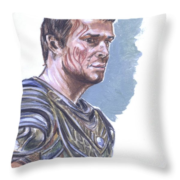 Kantos Kan Throw Pillow by Bryan Bustard