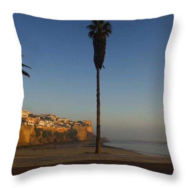 Kasbah Des Oudaias, Rabat Throw Pillow by Axiom Photographic
