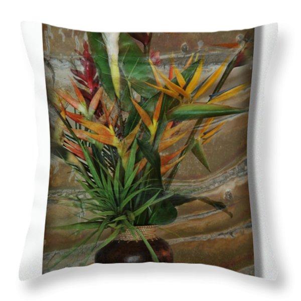 Keanu Throw Pillow by Sharon Mau