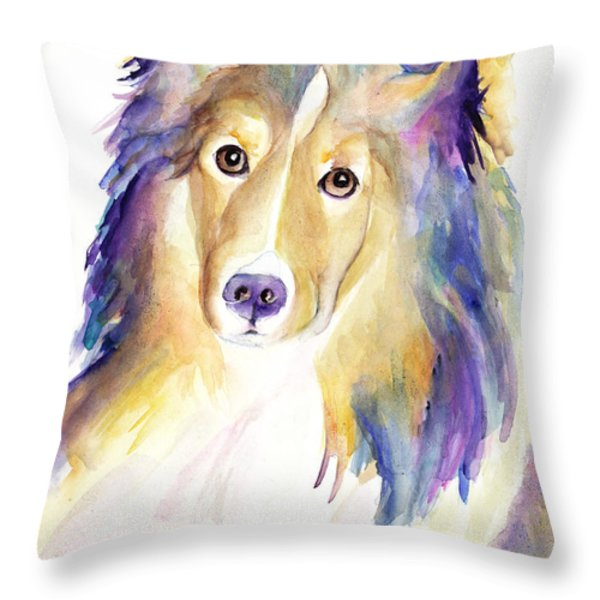 Kelly Throw Pillow by Pat Saunders-White