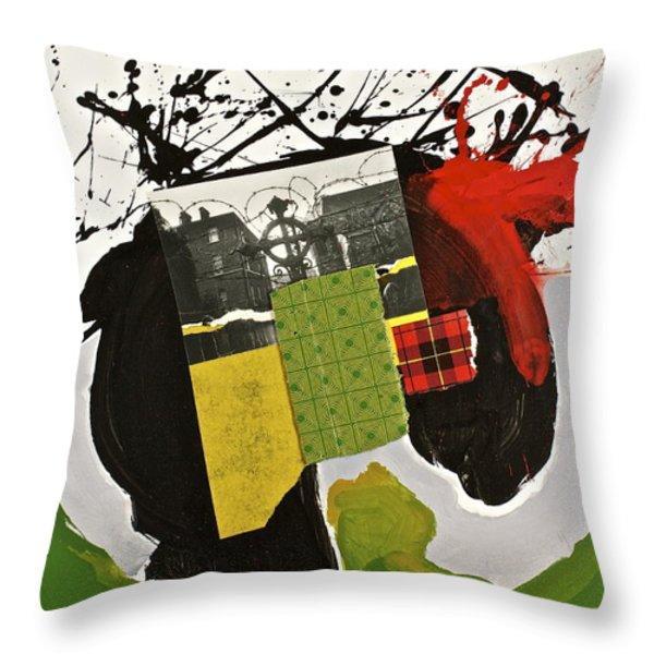 Kilter Throw Pillow by Cliff Spohn