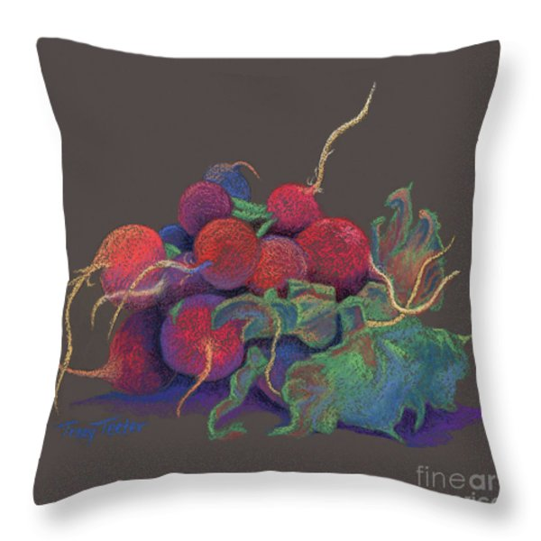 Kitchen Accents Throw Pillow by Tracy L Teeter