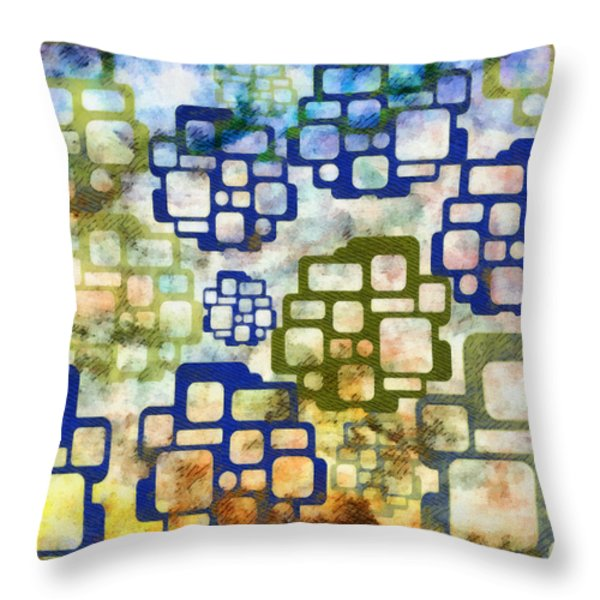 Knowledge Is Not Wisdom 3 Throw Pillow by Angelina Vick