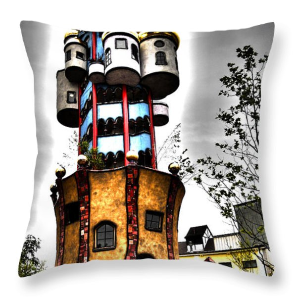Kuchlbauer - Abensberg Throw Pillow by Juergen Weiss