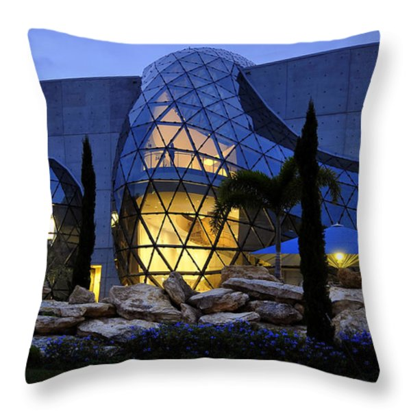 Lady In The Window Throw Pillow by David Lee Thompson
