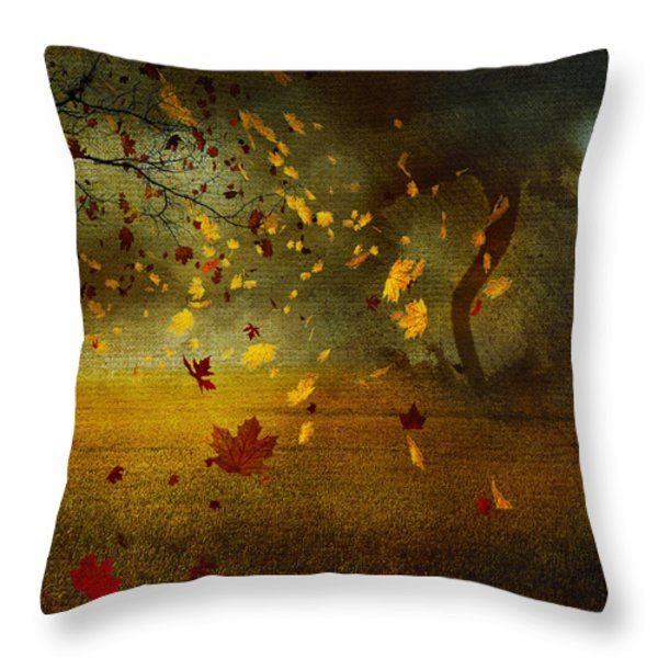 Late october Throw Pillow by Svetlana Sewell