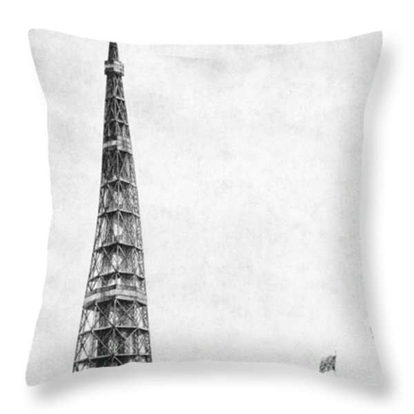 Latting Observatory, Nyc, 1850s Throw Pillow by Science Source