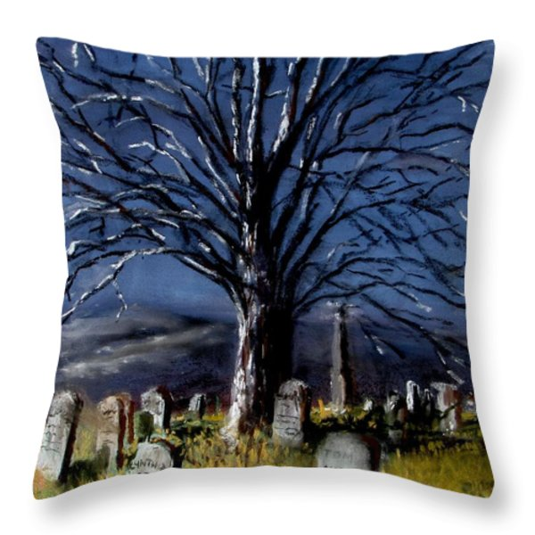 Left Alone Throw Pillow by Jack Skinner