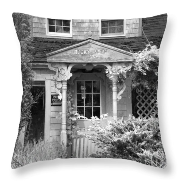 Left Behind Throw Pillow by Michelle Wiarda