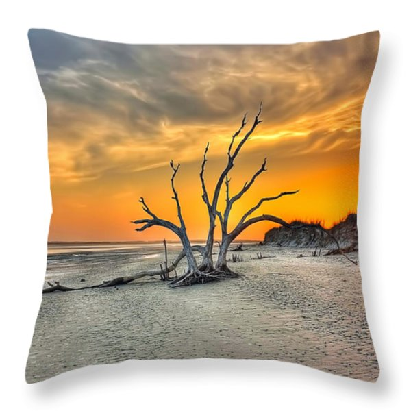 Left Standing Throw Pillow by Jenny Ellen Photography
