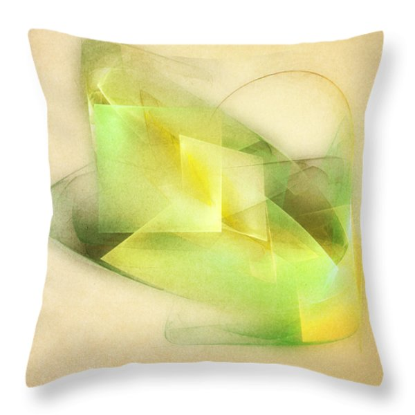Lemon Lime Throw Pillow by Scott Norris