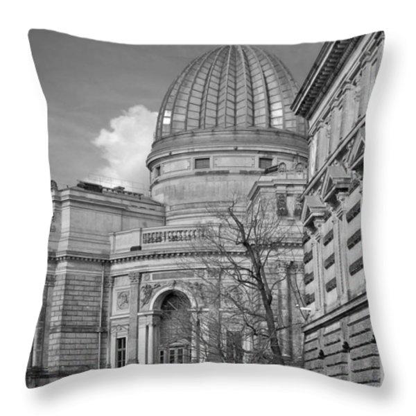 Lemon Squeezer - Academy Of Fine Arts Dresden Throw Pillow by Christine Till
