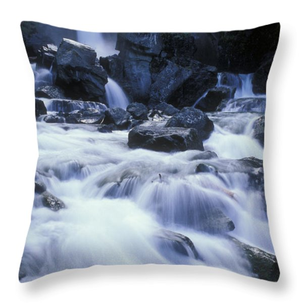 Liberty Falls And River In Liberty Throw Pillow by Rich Reid