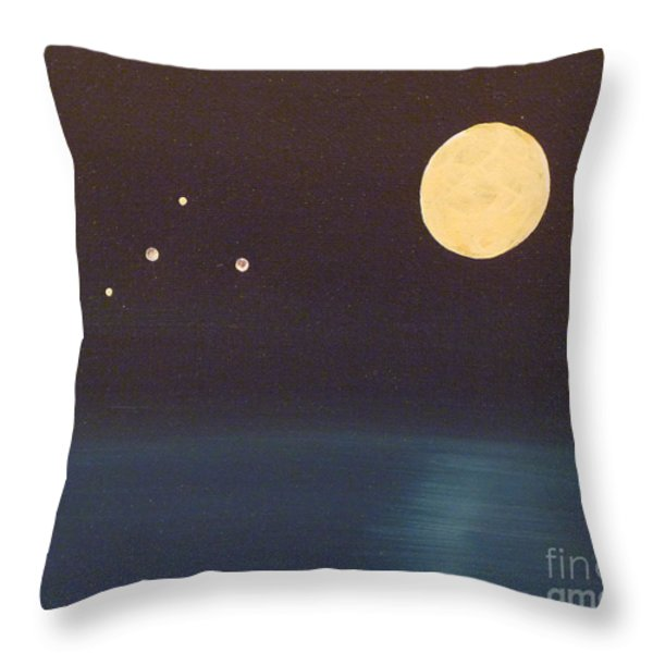 Libra Throw Pillow by Alys Caviness-Gober