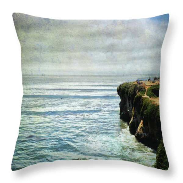 Life Is Bigger Throw Pillow by Laurie Search