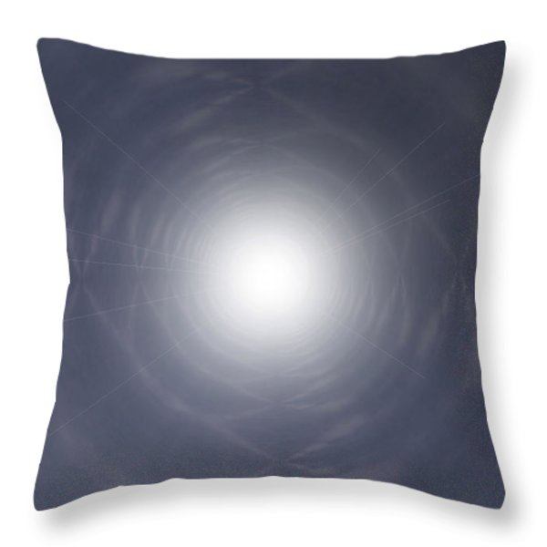 Light At The End Of The Tunnel Throw Pillow by Thomas  MacPherson Jr