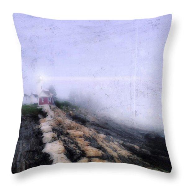 Light of Hope Throw Pillow by Darren Fisher