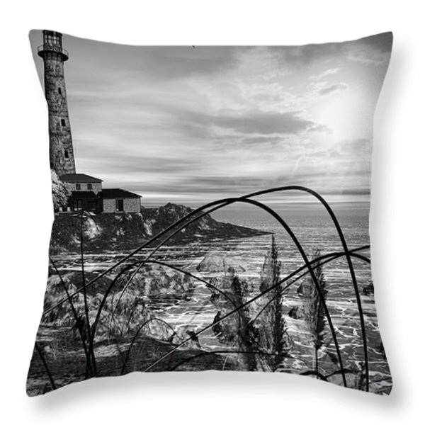 Light Within Throw Pillow by Lourry Legarde