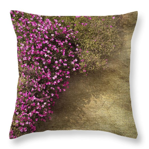 Lilac Branch Throw Pillow by Svetlana Sewell